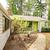 extérieur · de · la · maison · entrée · porche · lit · de · fleurs · garage · brique - photo stock © iriana88w