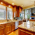 Luxury wood kitchen with granite countertop.  stock photo © iriana88w