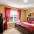 interieur · slaapkamer · Rood · moderne · witte · hout - stockfoto © iriana88w