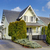 craftsman style yellow house exterior stock photo © iriana88w