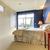 sypialni · niebieski · ściany · asian · lampy · wnętrza - zdjęcia stock © iriana88w