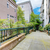 Modern apartment building with court walkway. stock photo © iriana88w