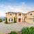 large beautiful home with beamed balcony stock photo © iriana88w