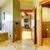 luxury large master bathroom in mountain home stock photo © iriana88w