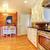 белый · кухне · кирпичная · стена · твердая · древесина · нержавеющий · печи - Сток-фото © iriana88w