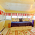 yellow small porch room with blue day bed stock photo © iriana88w