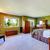 vert · oreillers · président · lumière · fond · hôtel - photo stock © iriana88w
