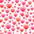 romantikus · végtelen · minta · szívek · különböző · néhány · piros - stock fotó © Irinka_Spirid