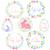 conjunto · cor · ovos · de · páscoa · decorado · ornamento · páscoa - foto stock © irinka_spirid
