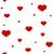 estilizado · corações · bebê · amor · coração - foto stock © irinka_spirid