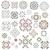 geometrik · desen · ayarlamak · yalıtılmış · geleneksel · elemanları - stok fotoğraf © Irinka_Spirid