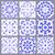 コレクション · 幾何学的な · シームレス · モノクロ · 背景 - ストックフォト © irinka_spirid