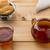çay · fincanı · sıcak · çay · peçete · ahşap · masa · gıda - stok fotoğraf © ironstealth