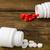 különböző · gyógyszer · üvegek · néhány · címkék · izolált - stock fotó © ironstealth