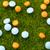 laranja · azul · pílulas · grama · verde · grama · saúde - foto stock © ironstealth