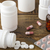 Various medical apothecary pill bottles stock photo © ironstealth