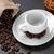 copo · café · preto · feijões · café - foto stock © ironstealth