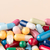 Colorful pills with copy space stock photo © ironstealth