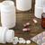 tabletták · műanyag · tároló · fa · asztal · különböző · fából · készült · orvosi - stock fotó © ironstealth