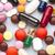 színes · orvosi · tabletták · fehér · gyógyszer · egészségügy - stock fotó © ironstealth