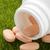 prescripción · abierto · píldora · botella · vacío · ampolla - foto stock © ironstealth