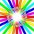 primo · piano · colorato · matite · cerchio · bianco · arte - foto d'archivio © iserg