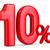 dez · por · cento · imagem · prestados · usado - foto stock © iserg