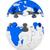 globe from puzzle on white background isolated 3d image stock photo © iserg
