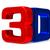 tre · tv · bianco · isolato · 3D · immagine - foto d'archivio © iserg