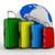 travel bags on white background isolated 3d image stock photo © iserg