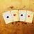 Vintage · покер · фото · выстрел · деньги · сердце - Сток-фото © istone_hun