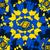 abstrato · caleidoscópio · azul · amarelo · vetor · fundo - foto stock © iunewind