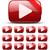 vídeo · botão · fita · texto · diferente · hd - foto stock © iunewind