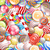 doces · brilhante · aniversário · laranja · arco-íris - foto stock © iunewind