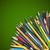 Blackboard · gekleurd · potloden · terug · naar · school · schoolbord · tekst - stockfoto © iunewind