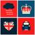 poster · Londen · symbolen · voedsel · stad · ontwerp - stockfoto © ivaleksa