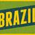 retro · Brasil · cartaz · projeto · brilhante · amarelo - foto stock © ivaleksa