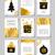 Noël · accueil · cartes · carte · de · vœux · modèles - photo stock © ivaleksa