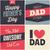 mutlu · babalar · günü · tebrik · kartları · ayarlamak · bağbozumu - stok fotoğraf © ivaleksa