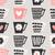 cute · affiche · design · tasses · de · café - photo stock © ivaleksa