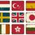 grunge · Hollandia · zászló · stílus · fehér - stock fotó © ivaleksa