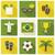 Brezilya · vektör · Mesih · heykel · bilgisayar · futbol - stok fotoğraf © ivaleksa