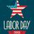 American Labor Day Poster stock photo © ivaleksa