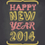 chalkboard happy new year card stock photo © ivaleksa