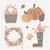 vetor · ação · de · graças · elementos · conjunto · tradicional · comida - foto stock © ivaleksa