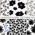 dieci · vettore · senza · soluzione · di · continuità · bianco · nero · modelli - foto d'archivio © ivaleksa