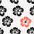 Rood · witte · tropische · hibiscus · bloemen - stockfoto © ivaleksa