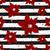red poinsettias and stripes seamless pattern stock photo © ivaleksa