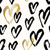 hand painted hearts pattern stock photo © ivaleksa