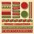 Noel · ayarlamak · dizayn · elemanları · kırmızı · altın - stok fotoğraf © ivaleksa